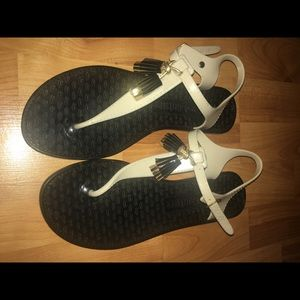 Juicy Couture Thong Jelly Shoes Sz:9